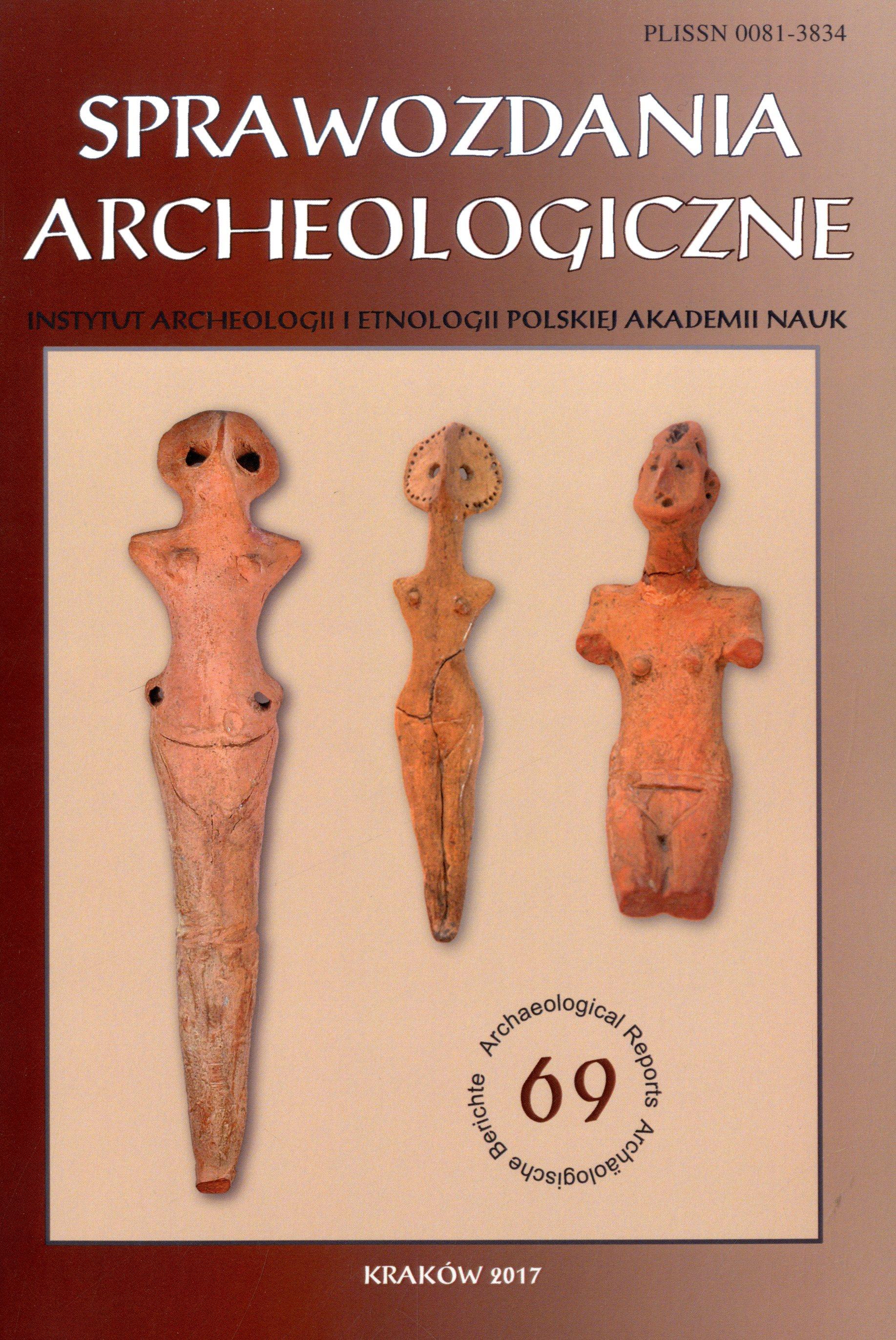 Sprawozdania Archeologiczne vol.69 2017