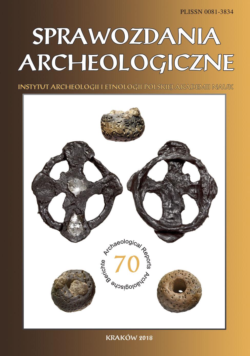 Sprawozdania Archeologiczne vol.70 2018